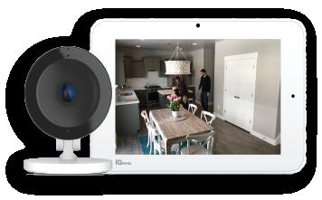 Indoor Security Cameras & Touchscreen Panel