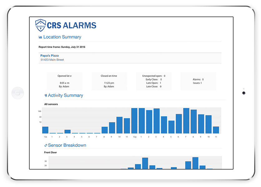 iPad Branded Shots-CRS alarms graph