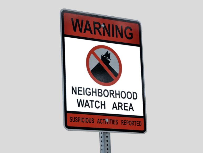 Keep the Neighborhood Safe with Your Home Security